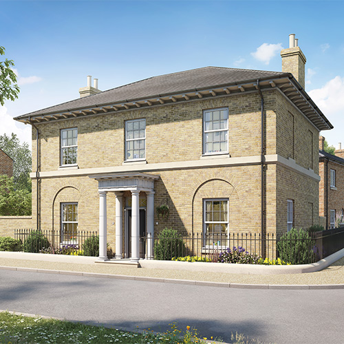 New Build Homes Poundbury Dorset