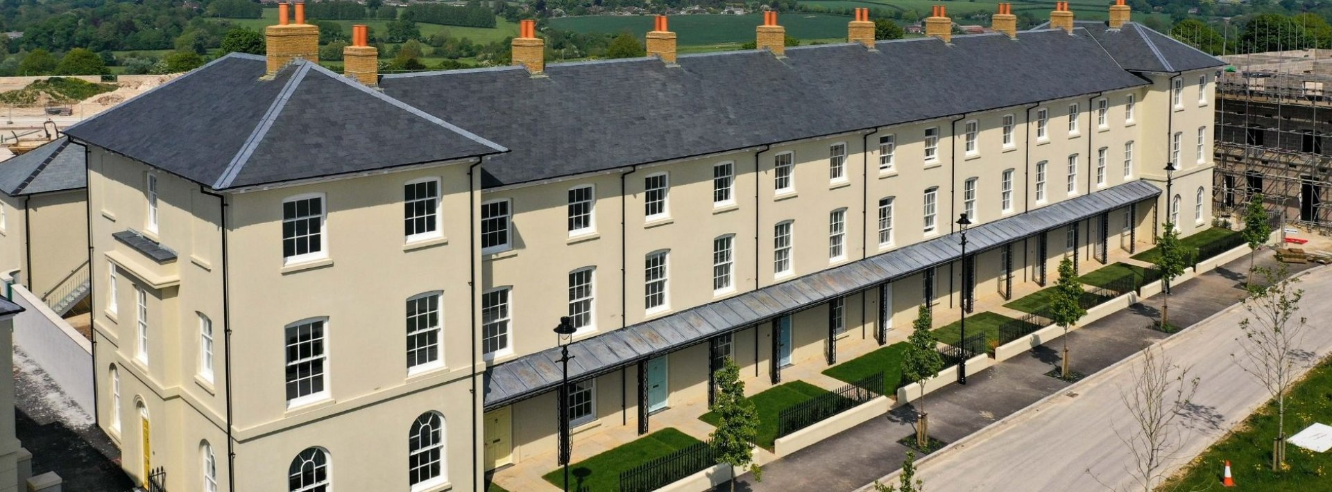 New Show Home In Poundbury
